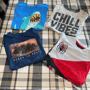 boys size L graphic tee lot